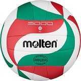 MOLTEN Bola Voli Size 1 [V1M300] - White/Red/Green